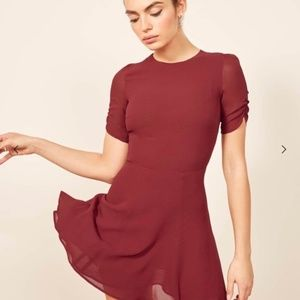 REFORMATION - NWT Gracie Dress - Garnet